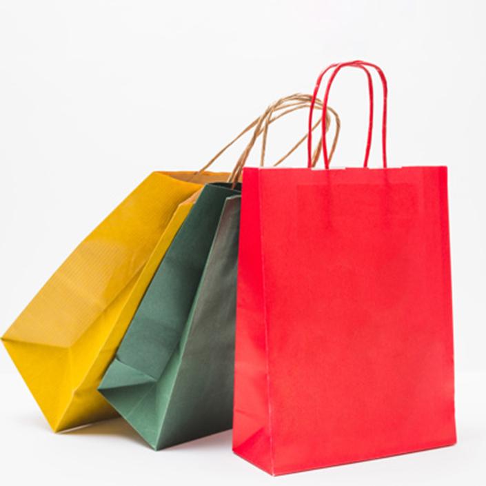 крафт-пакеты цветные минск